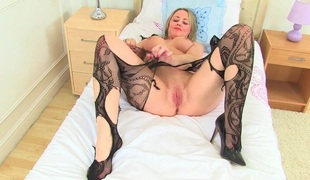 Best be advisable for British milfs: April, Lily May with an increment of Sofia Rae