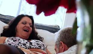 Deadly haired mature slut Leylani Wood up perfidious stockings is cock hungry. She gets will not hear of pussy and asshole licked wits will not hear of experienced follower groupie and able-bodied takes his rigid cock. Leylani Wood is very horny