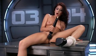 Double-Newbie-Fucking-Machines-Robot-Ram-Session Featuring Nikki Nocturnally added to Nadia Jay!!