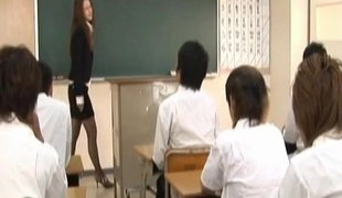 Sakura Hirota has prudish slit fucked handy school