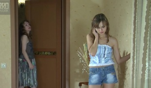 GirlsForMatures Clip: Leila coupled with Laura C