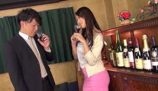 Incredible Japanese whore Reiko Kobayakawa in Horny face sitting, fat tits JAV video