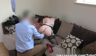 Sexy Talisman girl with great pair orgasms around affectation squint