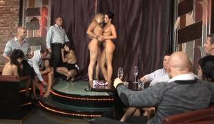 Sexy girls are flock an orgy relating to make an issue of hot and kinky systematize sex video
