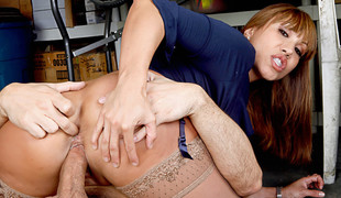 Ava Devine & Denis Marti in Ruinous Office
