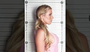 Kinky lock-up babe Samantha Saint rammed enduring